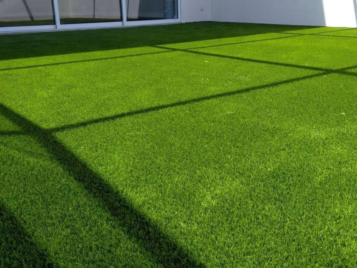 Wollongong artificial grass installation